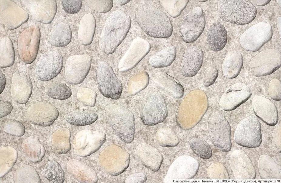 Пленка самоклеющаяся Delux Камни 3978