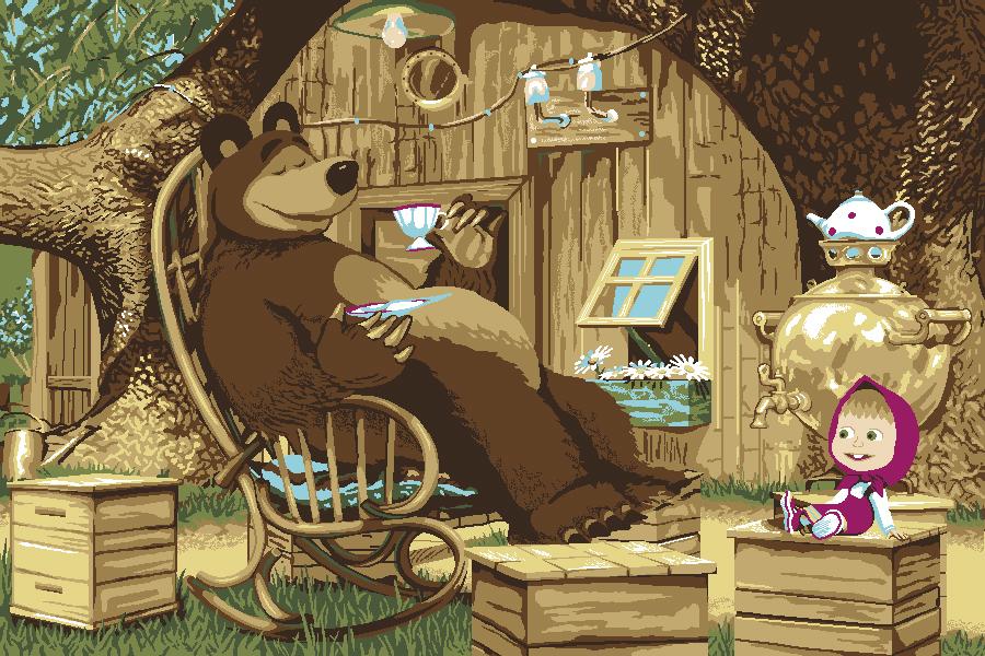погибшей картинки чай и медведь включает медикаментозные препараты