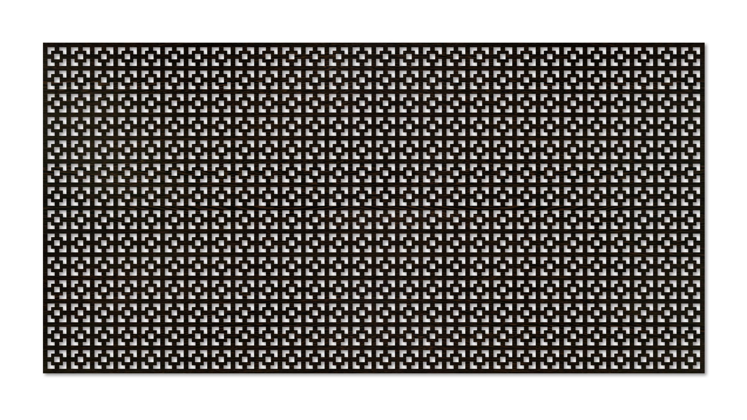 Перфорированная ХДФ панель Дамаско венге v546988 купить