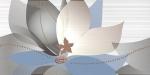 Керамическая плитка Нефрит-Керамика Декор 04-01-1-10-03-61-441-0 Голубой
