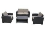 Мебель Садовая мебель Набор мебели с диваном из искусственного ротанга AFM-2017B