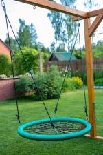 Мебель Садовая мебель Качели-гнездо 110 см круглые зеленые