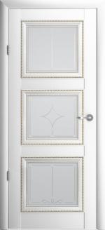 Двери Межкомнатные Версаль-3 белый мателюкс ромб