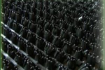 Грязезащитные покрытия Щетинистые покрытия Альфа Стиль Черный 139