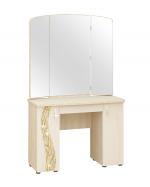 Мебель Витра Туалетный столик Соната 98.06 дуб Кобург, Магнолия глянец