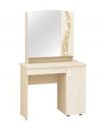Мебель Витра Туалетный столик Соната 98.34 дуб Кобург, Магнолия глянец