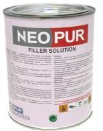 Паркетная химия Neopur Шпаклевка Filler Solution