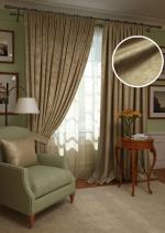 Товары для дома Домашний текстиль Комплект штор Plain Lux-SH PL123909635