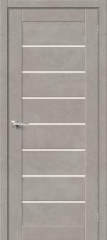 Двери Межкомнатные Браво-22 Gris Beton/Magic Fog
