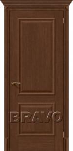Двери Межкомнатные Классико-12 Brown Oak (Еврошпон)