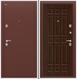 Двери Входные Старт Антик Медь/П-33 (Венге)