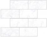Керамическая плитка Vitra Декор Кирпичная Кладка Каррара Белый K946648LPR