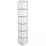 Для дачи Отделка стен Угол узкий Sandstone White