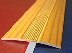 Подложка, порожки и все сопутствующие для пола Порожки Одноуровневый алюминиевый порожек А38 подобранный в цвет