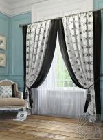 Товары для дома Домашний текстиль Алия (черный) 950017