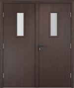 Двери Входные ДПО двустворчатое Экошпон