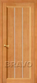 Двери Межкомнатные Вега-19 Т-30 (Светлый Орех) ПО СТ-Кризет