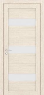 Двери Межкомнатные Дверное полотно Light ПДО 2120 Велюр капучино