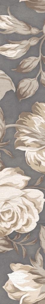 Керамическая плитка Lasselsberger Ceramics Бордюр 2 Фиори Гриджо 1506-0100