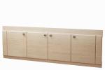 Мебель Мебель для ванной Экран под ванную 17 (с рисунком) венге светлый