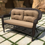 Мебель Садовая мебель Диван LV520-1 Brown/Beige