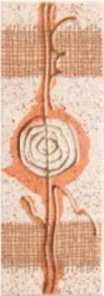 Керамическая плитка Керамин Антарес 3 Бордюр 200х71х7,5