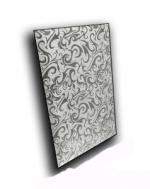 Керамическая плитка ДСТ Плитка зеркальная прямоугольная серебряная Алладин-1 ПЗСАл-1