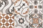 Керамогранит Cersanit Керамогранит Carpet пэчворк многоцветный микс CP4A452