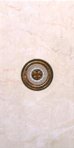 Керамическая плитка Belleza Декор Бельведер бежевый