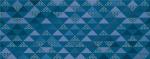 Керамическая плитка Azori Декор Vela Indigo Confetti