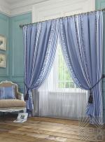 Товары для дома Домашний текстиль Бурт (голуб.) 950005