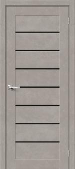 Двери Межкомнатные Браво-22 Gris Beton/Black Star