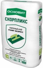 Строительные товары Строительные смеси Плиточный клей СКОРПЛИКС Т-15