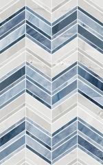 Керамическая плитка Шахтинская плитка (Unitile) Аника голубая низ 02