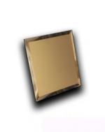 Керамическая плитка ДСТ Плитка зеркальная квадратная КЗБ1-01