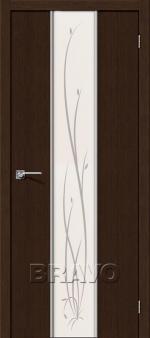 Двери Межкомнатные Глейс-2 Twig 3D Wenge