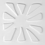 Стеновые панели 3D панели Эко панели из бамбука Caryotas 001402