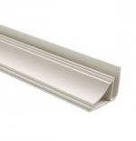 Стеновые панели ПВХ Плинтус потолочный (белый)
