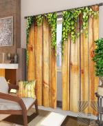 Товары для дома Домашний текстиль Деревянная стена 900298
