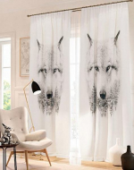 Товары для дома Домашний текстиль Волк 900642