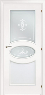 Двери Межкомнатные Saluto 612 R2O белый
