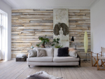 Обои Komar 8-920 Whitewashed Wood