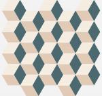 Керамическая плитка Italon Мозаика Cube Cold 600110000786