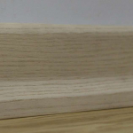Плинтус Polarwood PW Skirting Ясень Белый Лак