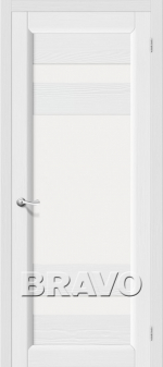 Двери Межкомнатные Леон Т-17 (Зефир) ПО СТ- Сатинато