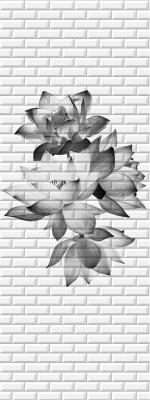 Стеновые панели ПВХ Таинственный сад 06650
