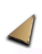 Керамическая плитка ДСТ Плитка зеркальная треугольная ТЗБм1-02