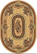 Ковры Чайная королева Ковер Чайная Королева 046-30 овал (1.4*2.05м)