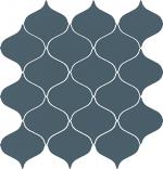 Керамическая плитка Meissen Декор Ocean Romance мозаика синий ONR-WIN131