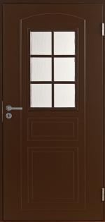 Двери Входные B0020 Темно-коричневая